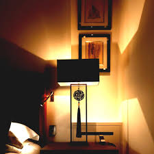 w fleible led wall mounted font b lamps degree rotation arm light
