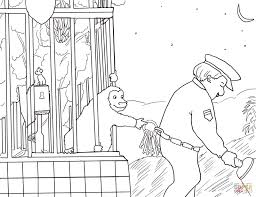 good night gorilla coloring free printable coloring pages