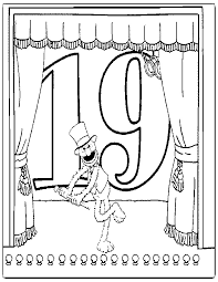 sesame street coloring pages numbers eliolera com