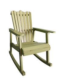 rocking recliner garden chair outdoor furniture rocking chair wood 4 colors american country