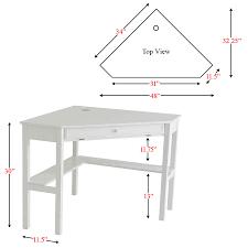 Overstock Home Office Desk by White Corner Desk With Hutch L Shaped White Wooden Corner Desk