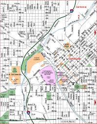 road map of denver west denver colorado aaccessmaps