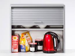 rangement pour meuble de cuisine elément de rangement pour cuisine avec rideau coulissant l60cm h53