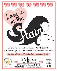 gift card specials specials the mane escape