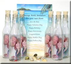 wedding invitations in a bottle wedding invitation templates message in a bottle wedding