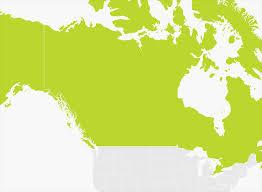 Map Of Canada Map Of Canada U0026 Alaska Tomtom