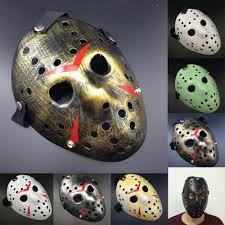 jason mask halloween hockey masks friday masks the 13th horror hockey jason vs