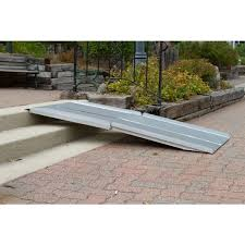 silver spring multi fold wheelchair ramps 4 12 feet discount