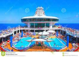 cruise ship at sea editorial image image 35440350