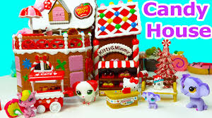 hello kitty holiday sweet candy gingerbread house bakery playset