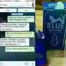 blue wizard ubat perangsang buat wanita pengedar stokis