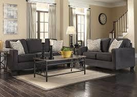 Charcoal Sofa Bed Major Discount Furniture Alenya Charcoal Sofa U0026 Loveseat