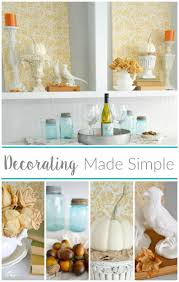 cheap and easy empty space decorating filler fox hollow cottage