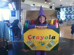 creative crayola crayon box diy costume idea for a crayon