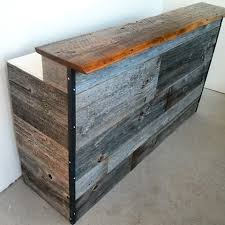 Reclaimed Wood Reception Desk Barnboardstore Com Barnboardstore Instagram Photos And Videos