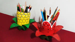 good pictures of craft ideas to make pen stand rumahane