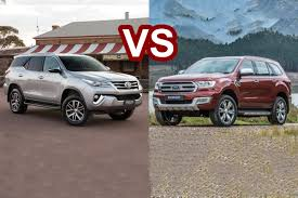 2016 Ford Everest Benim Otomobilim 2016 Toyota Fortuner Vs 2016 Ford Everest Trend