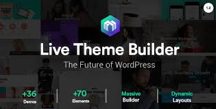 themes builder 2 0 massive dynamic v3 1 business wordpress theme 24x7themes best