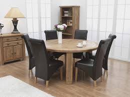 dark brown round kitchen table round counter height dining set white fluffy cover dining chairs