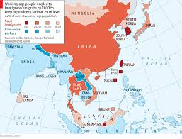 Dia Map Asia U0027s Looming Labour Shortage
