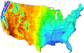 map of oregon state prism climate oregon state u