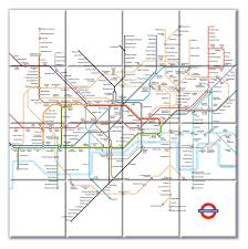 underground map ceramic map tiles underground map from maps on