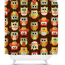 Owl Shower Curtains Great Owl Shower Curtains And Best Whimsical Shower Curtain