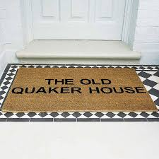 personalised doormat by letteroom notonthehighstreet com