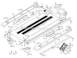 nordictrack ntl080092 parts list and diagram a2550 pro