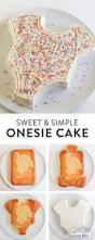 the 25 best onesie cake ideas on pinterest baby party food for
