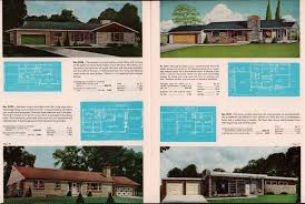 60s america u0027s best home plans 90 atomic ranch colonials split