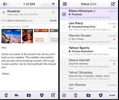 yahoo apps for android yahoo releases all new mail app for iphone