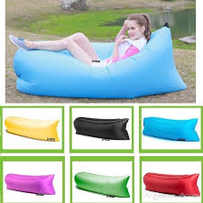 fast inflatable sleeping bag sofa air bag outdoor camping fatboy