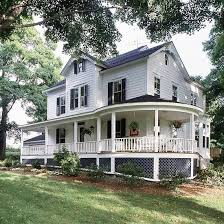 wraparound porch house plans with wrap around porches design house style