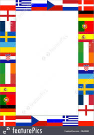 Europe Flags 16 National Flag Frame Stock Illustration I3842686 At Featurepics