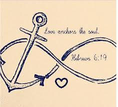 Love Anchors The Soul 8x10 - hebrews 6 19 love anchors the soul very cute tattoo idea on