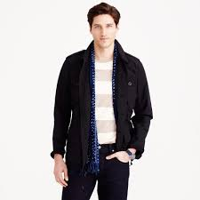 Wallace And Barnes Bomber J Crew Wallace U0026 Barnes Military Jacket In Black For Men Lyst