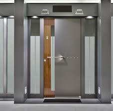 Custom Size Steel Exterior Doors Large Single Custom Wood Exterior Doors With Narrow Glass Panels