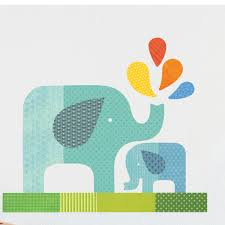 kids wall decals walldecals blue elephant baby wall decal