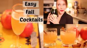 easy fall cocktails thanksgiving cocktails