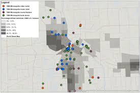 Minneapolis Map Usa by Mapping Media Retail In The Global Midwest Minneapolis And St