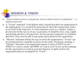 vision u0026 mission statements of selected fmcg organizations