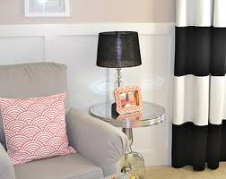 Black And White Striped Curtains Black And White Striped Curtains 96 Gopelling Net