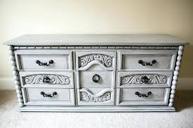 Gray Bedroom Dressers Painted Bedroom Dressers Chalk Paint Dresser Gray Painted