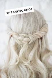 celtic wedding hairstyles d e s i g n l o v e f e s t 4 hair styles under 4 steps