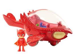 pj masks deluxe owlette u0027s owl glider vehicle nephew niece
