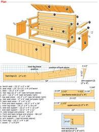 how to build a bench with hidden storage extra seating decking