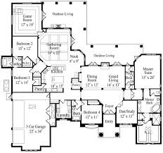 plan 42097mj grand mediterranean home with game room home
