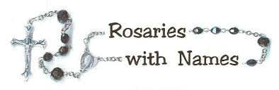 personalized rosary rosarieswithnames home page