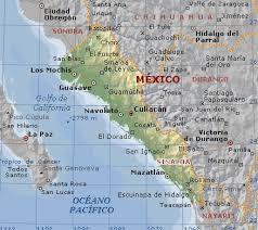 sinaloa mexico map sinaloa mexico physical map atlas